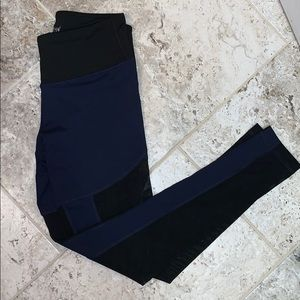 Navy and black sheer leggings! Never wore!